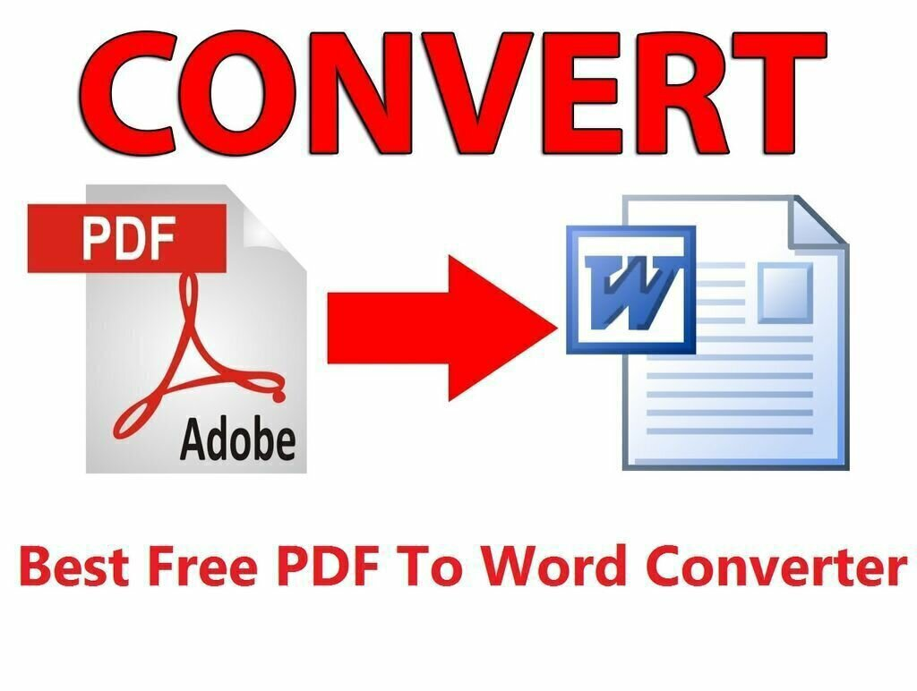 How can Word convert to PDF and vice versa